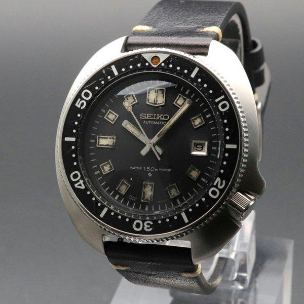 セイコー - Antique Seiko -   1970年 セイコー ダイバー セカンドモデル 【Ref.6105-8110】 ヴィンテージ 希少中期型 植村モデル【OH済】