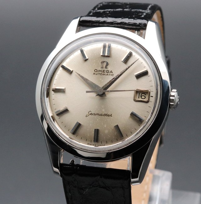 即納品  1962年 アンティーク オメガ シーマスター [日付]  CAL562 SS ヴィンテージ【OH済】