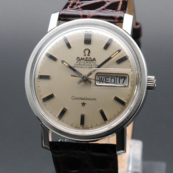 即納品  1969年 オメガ アンティーク コンステレーション デイデイト cal751 クロノメーター ヴィンテージ【OH済】