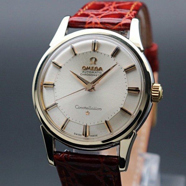 即納品  1962年 12角 アンティーク オメガ cal551 コンステレーション  ゴールドキャップ ヴィンテージ【OH済】
