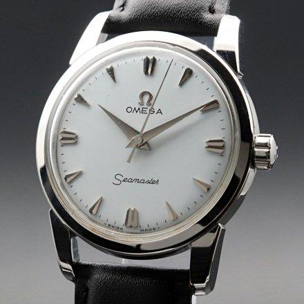 1957年 オメガ アンティーク シーマスター CAL420 クサビ 手巻 ヴィンテージ【OH済】の商品画像