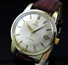 売切れ【特価】1963年 オメガ シーマスター [日付] 自動巻 CAL562 ゴールドキャップの商品画像