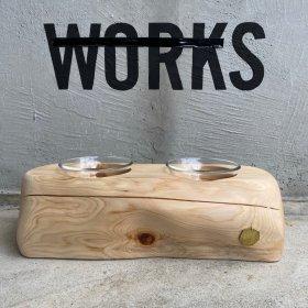 4/7 13:00発売!#35 WORKS MODEL / PET TABLE _ 2CUP H-12cm