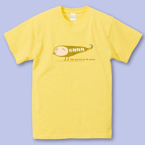 名前入り*プリントパパママTシャツ<br>(ヘンな生きもの)