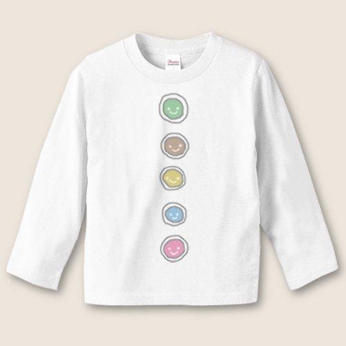 手描き*名前入り長袖Tシャツ<br>(ボタン)
