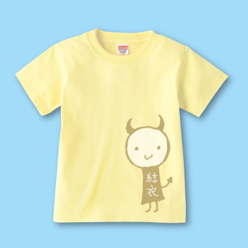 手描き*名前入りキッズTシャツ<br>(デビル)