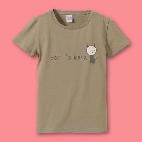 手描き*名前入りママTシャツ<br>(デビル2)