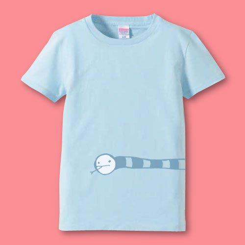 名前入り*手描きママTシャツ<br>(にょろ)
