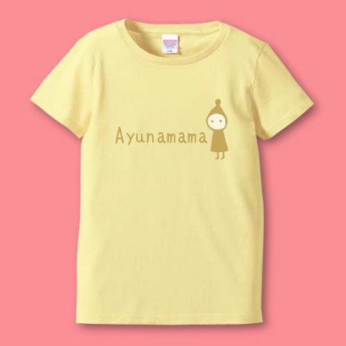 名前入り*手描きママTシャツ<br>(コビト2)
