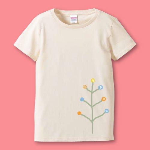 手描き*名前入りママTシャツ<br>(木)