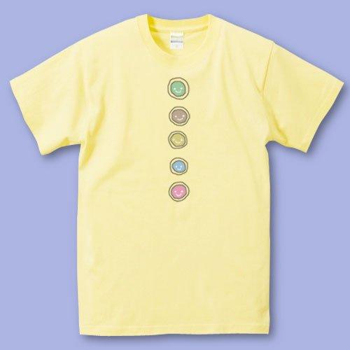 手描き*パパママTシャツ<br>(ボタン)
