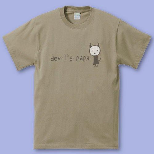 手描き*パパママTシャツ<br>(デビル2)
