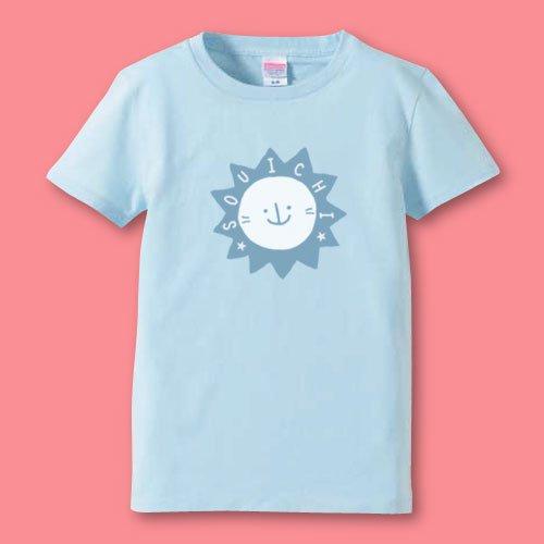 手描き*名前入りママTシャツ<br>(らいおん)