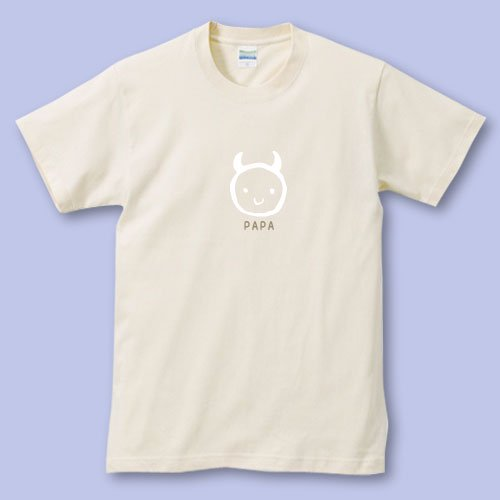 名前入り*プリントパパママTシャツ<br>(デビルR)