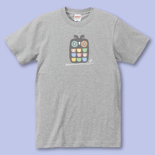 名前入り*プリントパパママTシャツ<br>(ふくろう)