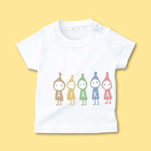 手描き*ベビーTシャツ<br>(コビト)