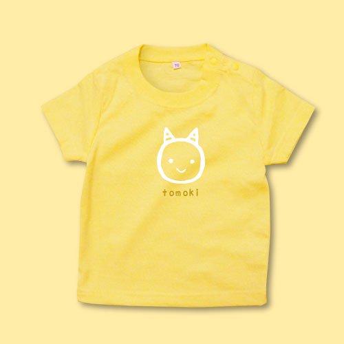 名前入り*プリントベビーTシャツ<br>(鬼R)