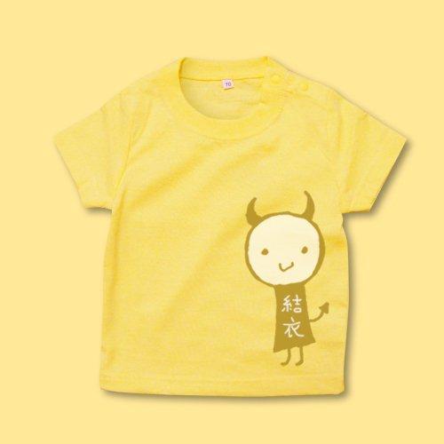 手描き*ベビーTシャツ<br>(デビル)