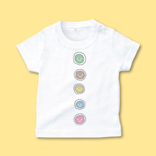 手描き*ベビーTシャツ<br>(ボタン)