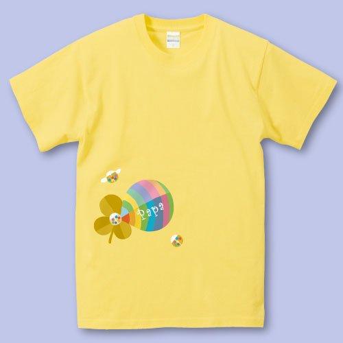名前入り*プリントパパママTシャツ<br>(よつ葉)