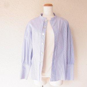 planedo  OC kotori刺繍 チビスタンドカラーシャツ&カシュクールシャツ