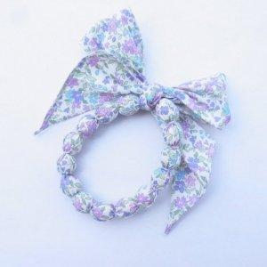 CHA ブレスレット・アンクレット 花柄 パープル系