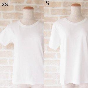 PT オーガニックコットン ユニセックス  Tシャツ 白