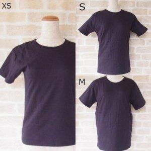 PT オーガニックコットン ユニセックス  Tシャツ ネイビー