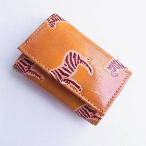ヤギ革 三つ折り財布