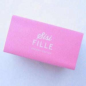 sisiFILLE(シシフィーユ) サニタリーパッド16個入 多い日用23.5cm(羽つき)