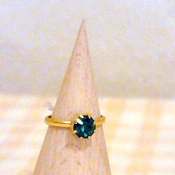 指輪 グリーン
