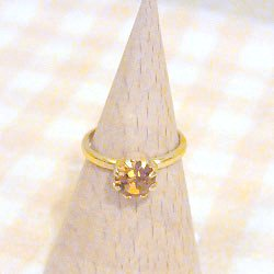 指輪 イエロー