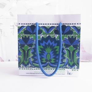 エストニア 紙袋 ブルー
