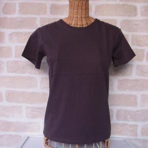PT オーガニックコットン ユニセックス  Tシャツ 黒 XS