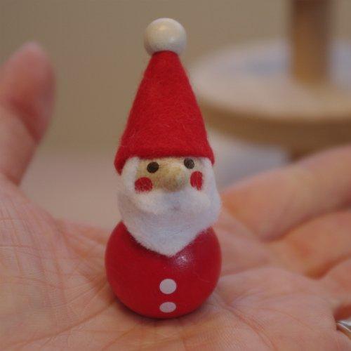 手のひら人形・サンタクロース・ミニ