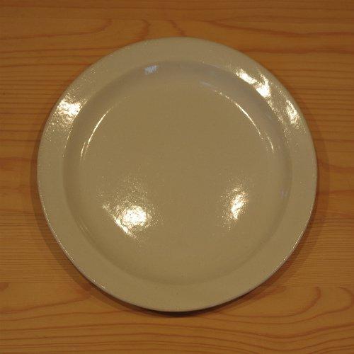 白いラウンドリムプレート 6寸ケーキ皿