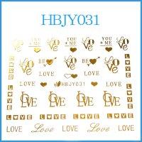 ☆フォントシール☆ゴールドカラー/HBJY031-G