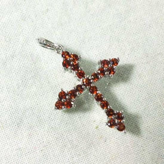リバーシブル2WAYクロスペンダントトップ 十字架