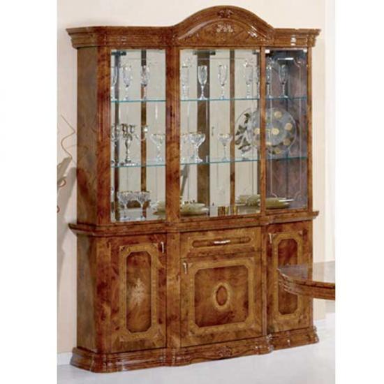 【送料無料】【Saltarelli】<アマルフィ>イタリア家具 3ドア キャビネット(ブラウン) im-B3-5001A