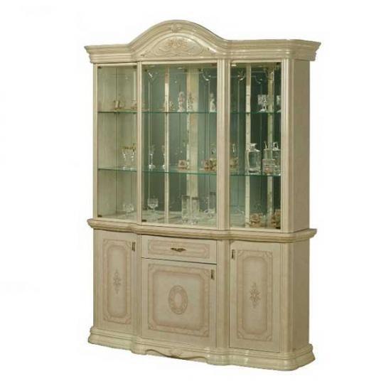 【送料無料】【Saltarelli】<アマルフィ>イタリア家具 3ドア キャビネット(ホワイト) im-B3-7001A