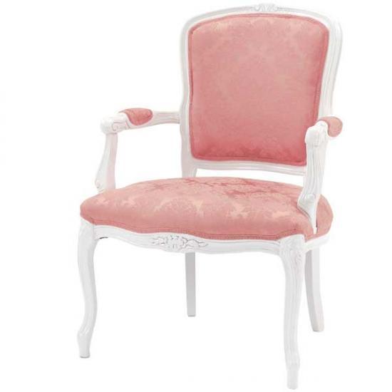 【送料無料】ロココ調輸入家具 サロンチェア(イタリア製)