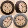 【廃盤】【壁掛け時計】アイアンクロック レトロ調時計 インテリア雑貨 ak-PSC110