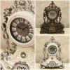 【置き時計】ビクトリアン調ゴージャス テーブルクロック 雑貨 ak-VP0706roma