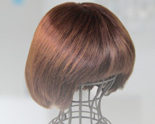 K7021 医療向けウィッグ 人毛100%レミーヘアー Mサイズ