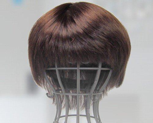 K7022 医療向けウィッグ 人毛100%レミーヘアー Mサイズ