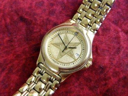 フリーメイソンイースタンスター逆五芒星ハミルトンHAMILTON腕時計【M-775】