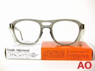 箱付きデッドストックヴィンテージAOアメリカンオプティカルゴーグルメガネ眼鏡50□20【サイドカバー取り外し可】【AO-010】
