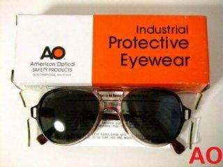デッドストックヴィンテージAOアメリカンオプティカルティアドロップゴーグルメガネ眼鏡56□19【サイドカバー取り外し可】【AO-019】