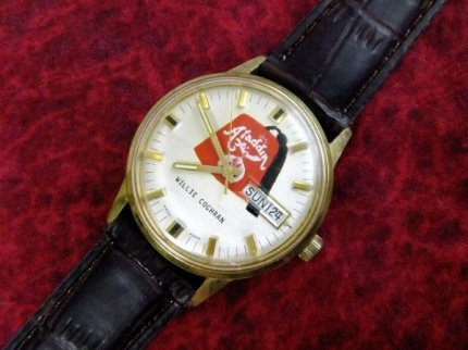 ビンテージスイス製フリーメイソンWILLIECOCHRANシュライナー手巻き式腕時計【M-938】