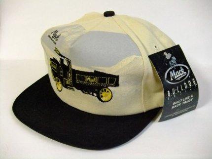 デッドストックMACKTRUCKマックトラックブルドッグオフィシャルキャップデッドストック帽子【M-6251】